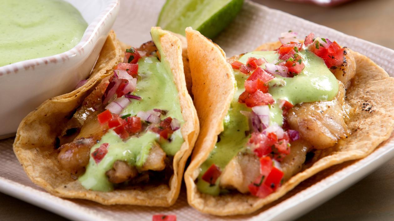 Tacos de Pescado al Cilantro