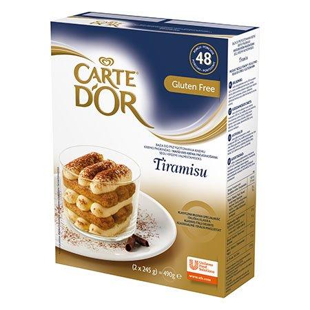 Carte d'Or Segu Tiramisu kreemi valmistamiseks 2x245 g