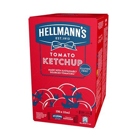 Hellmann's Tomatiketšup 10 ml x 198 -