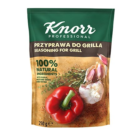 Knorr 100% Natural grill maitseaine 250g -