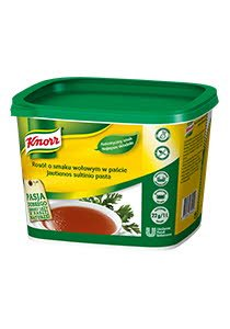 Knorr Veiseliha Maitseline puljongipasta 1 kg