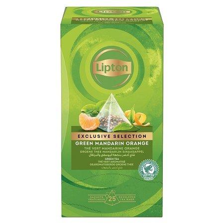 Lipton Maitsestatud roheline tee mandariini- ja apelsinikoortega