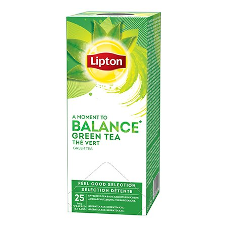 Lipton Roheline tee -