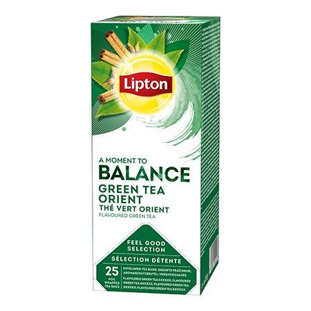 Lipton Vürtsidega maitsestatud roheline tee -
