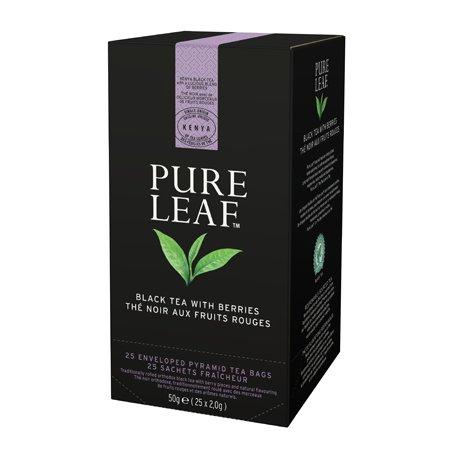 Pure Leaf Must tee marjadega -