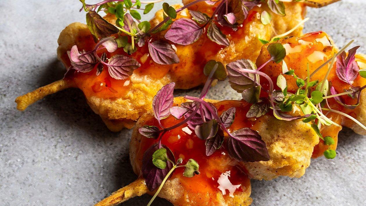 Kana- ja krevetivardad ingveriõlletainas