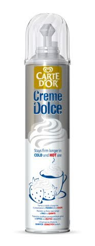 Carte d'Or Creme Dolce Sprayvaahto 500ml -