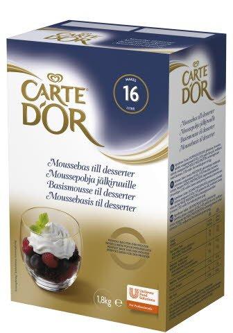 Carte d'Or Moussepohja jälkiruoille 1,8kg/16L