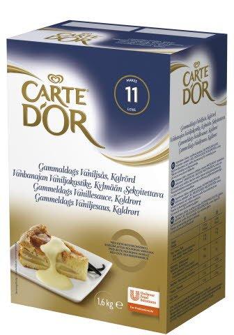 Carte d'Or Vanhanajan vaniljakastike 1,6kg/11L