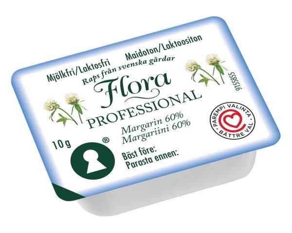 Flora Professional Annos Laktoositon margariini 60, 10 g