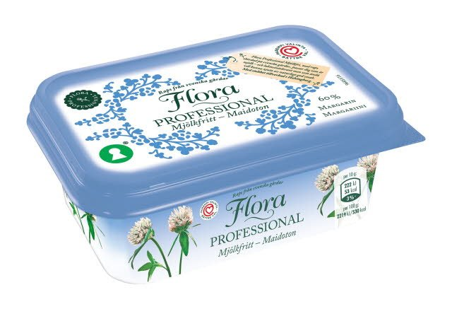 Flora Professional laktoositon margariini 60, 16 x 400 g