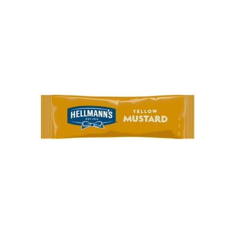 Hellmann's  Keltainen Sinappi 10 ml x 198 kpl annospussi -