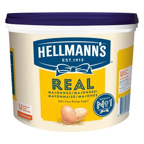 Hellmann's Real Majoneesi 10 kg