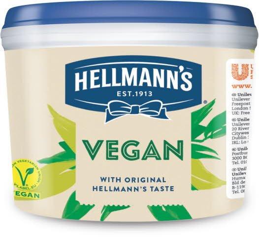 Hellmann's Vegaanimajoneesi 2,5 kg -