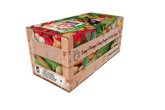 KNORR 100 % Soup Paprika-tomaattikeitto 4 x 2,5 KG