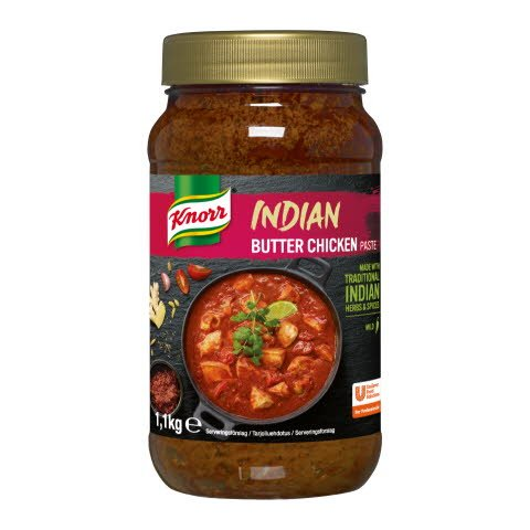 Knorr Butter Chicken tahna 4x1,1kg