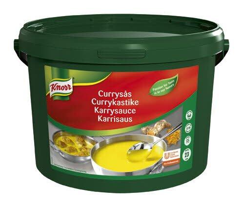 KNORR Currykastike 3,2 kg / 23 L