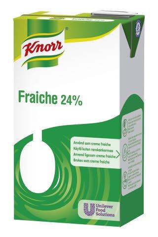 Knorr Fraiche 24 % maitopohjainen kasvirasvasekoite 1L
