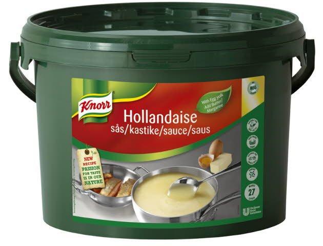 KNORR Hollandaisekastike 3,75 kg / 27 L