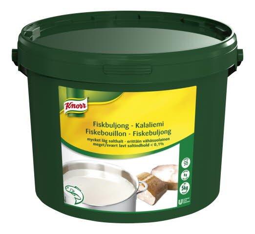 Knorr Kalaliemi, erittäin vähäsuolainen 5kg/625L