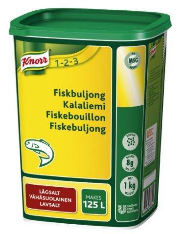 KNORR Kalaliemi, vähäsuolainen 1kg/125L