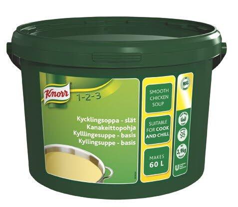 KNORR Kanakeittopohja 3,9kg/60L