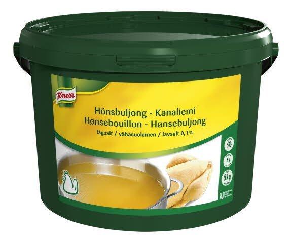 Knorr Kanaliemi, erittäin vähäsuolainen 5kg/625L