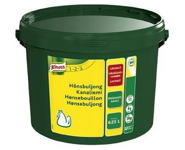 KNORR Kanaliemi, vähäsuolainen 5kg/625L