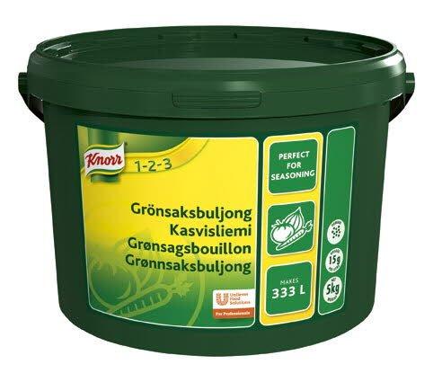 KNORR Kasvisliemi 5kg/333L