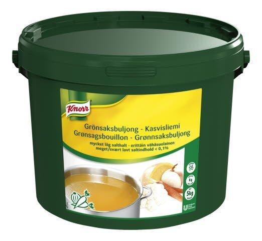 Knorr Kasvisliemi, erittäin vähäsuolainen 5kg/625L