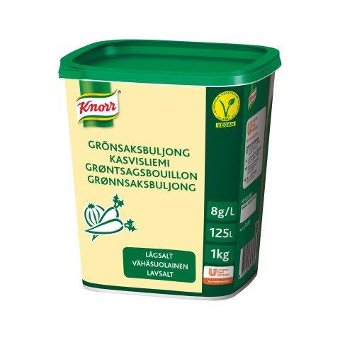 Knorr Kasvisliemi vähäsuolainen 1 kg/ 125 L
