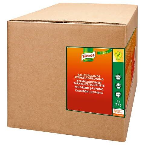 KNORR Kylmäliukoinen tärkkelys/suuruste 4kg x 1