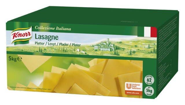 KNORR Lasagnelevyt GN-mitoitus 5 kg