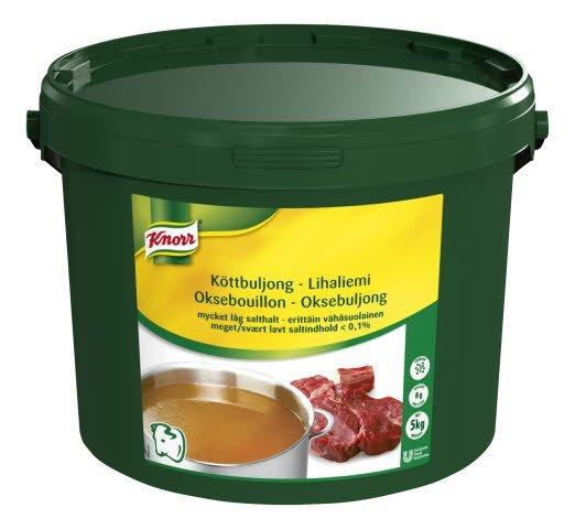 Knorr Lihaliemi, erittäin vähäsuolainen 5kg/625L