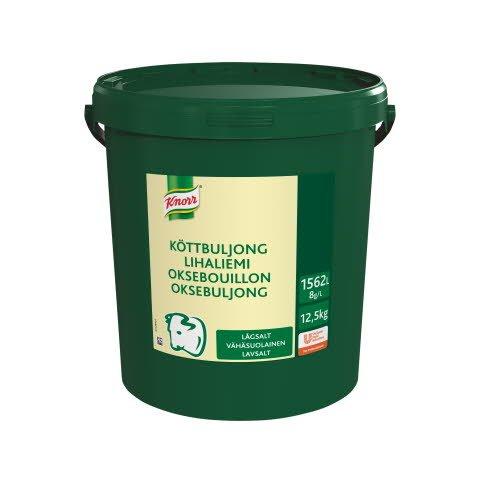 Knorr Lihaliemi vähäsuolainen 12,5 kg / 1562 L -