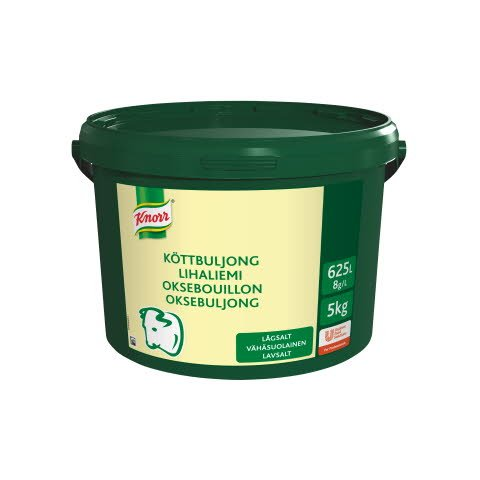 Knorr Lihaliemi vähäsuolainen 5 kg/ 625 L -