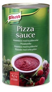 Knorr Pizzakastike 4,2 kg -
