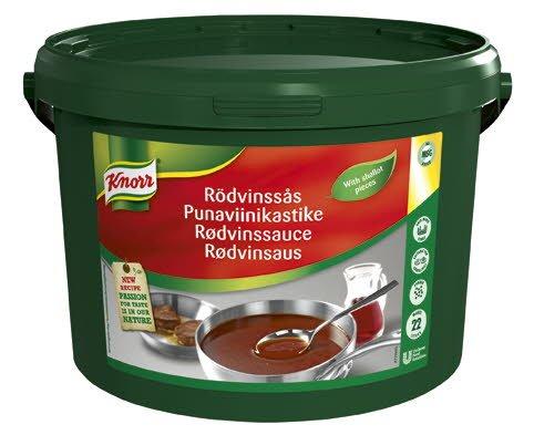 Knorr Punaviinikastike 3,4 kg / 22  L -