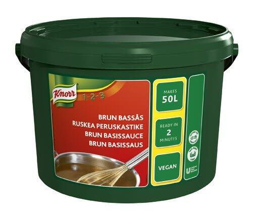 KNORR Ruskea peruskastike 3,75 kg/50 L
