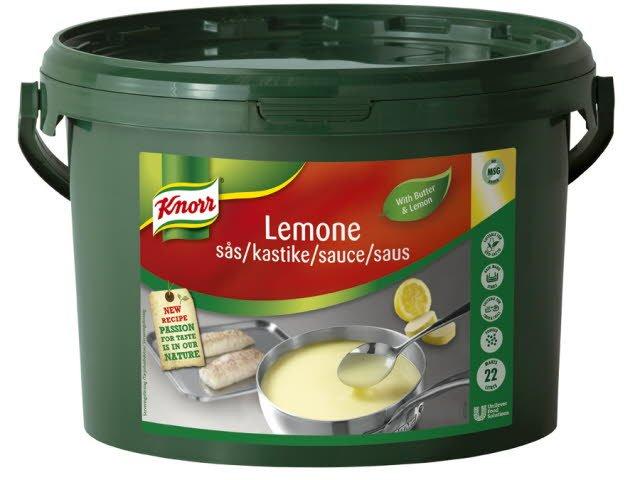 KNORR Sauce Lemone, Sitruunakastike 3 kg / 22 L