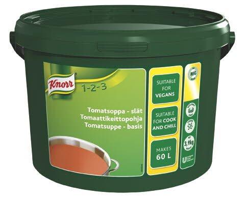 KNORR Tomaattikeittopohja 3,9kg/60L