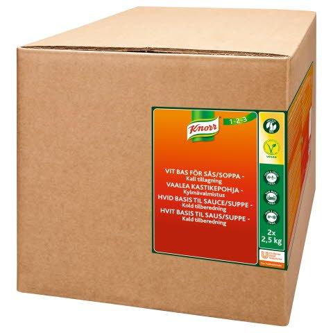 KNORR Vaalea kastikepohja, kylmävalmistus 5kg/62,5L -