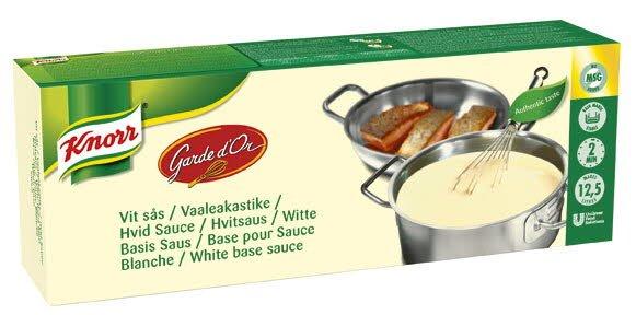 KNORR Vaalea kastikepohja (tanko) 2,5 kg/12,5 L