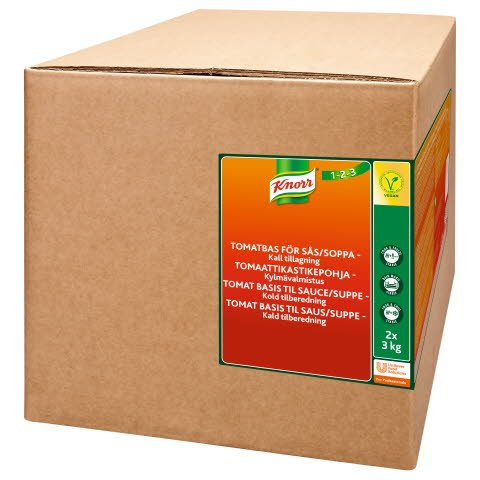 KnorrTomaattikastikepohja, kylmävalmistus 6 kg/ 60 L -