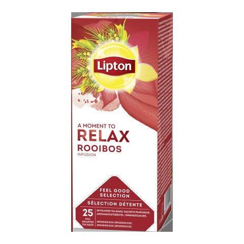 Lipton Horeca Rooibos Yrttitee 6 x 25 pss -