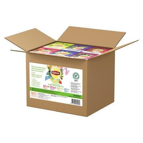 Lipton HoReCa Valikoimalaatikko 12 x 25 pss
