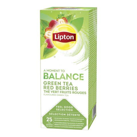 Lipton HoReCa Vihreä Red Berries Tee 6 x 25 pss -