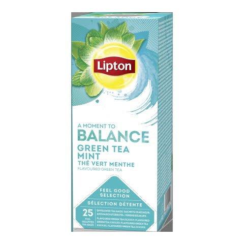 Lipton HoReCa Vihreä Tee Minttu 6 x 25 pss -
