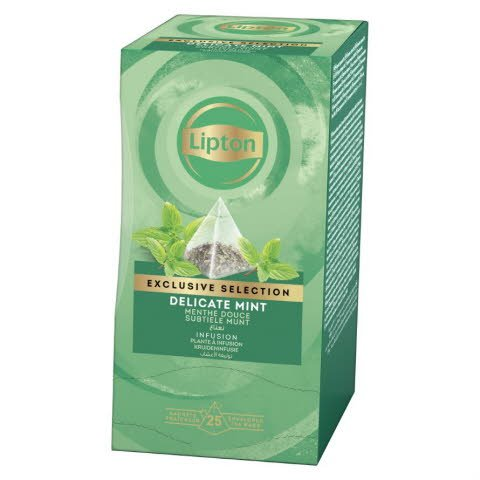 Lipton Pyramid Delicate Mint, yrttitee 6 x 25 ps -