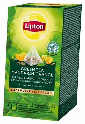 Lipton Pyramid Green Tea Mandarin Orange 6 x 30 pss -